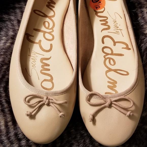7169b620f NWOT Sam Edelman Nude Ballet Flats 9.5. M 5b64a9df8ad2f99810be3fa1